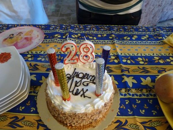 Geburtstagstorte in Ortona