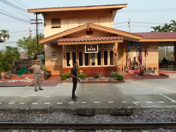 im Zug nach Phitsanulok