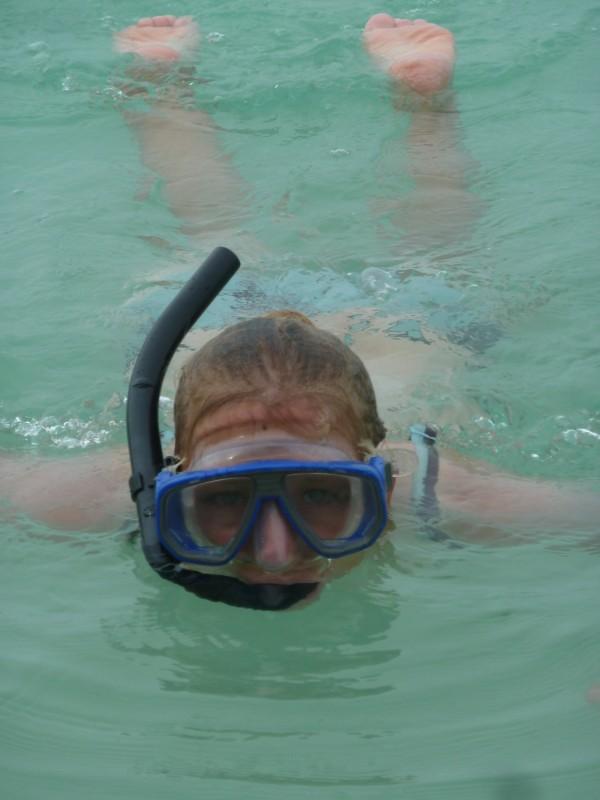 Schnorcheln bei Rok Nok - atemberaubende Unterwasserwelt, snorkelling close to Rok Nok - a breathtaking underwater world