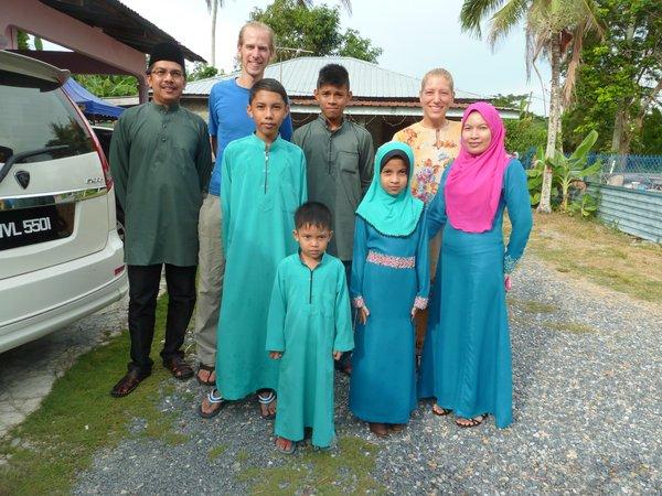 "Alor Setar - zu Gast bei einem ""hari raya open house"""