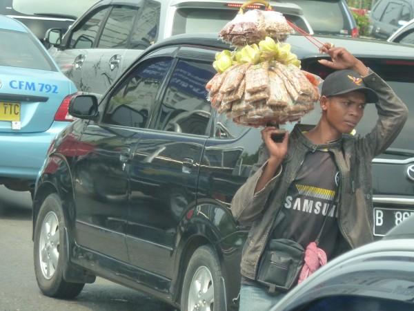 Java is the most populated island in the world - many people become very creative on how to make their living. ///// Java ist die dicht besiedelste Insel der Welt - viele Menschen sind sehr kreativ, wenn es es darum geht, wie sie sich ihren Lebensunterhalt verdienen
