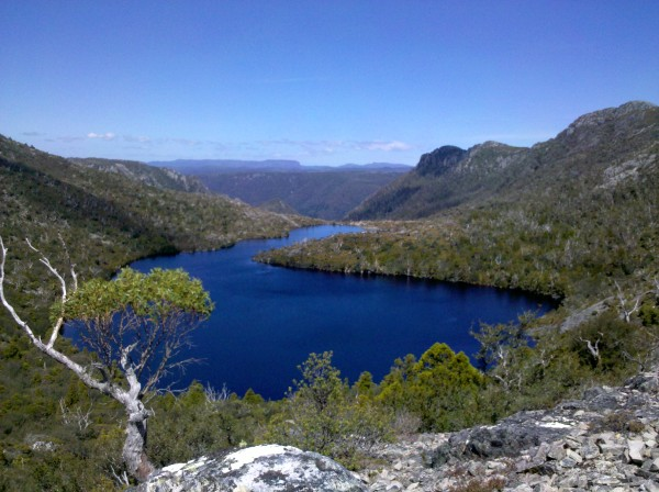 Lake Hanson in Cradle Mountain National Park
