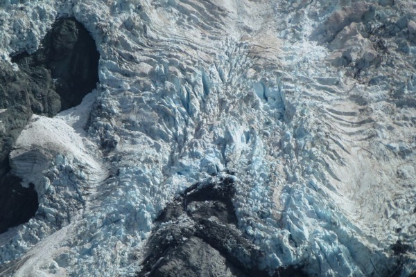 A glacier up close ///// Ganz nah am Gletscher
