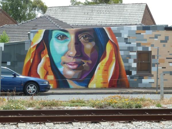 Adelaide - street art (Straßenkunst)